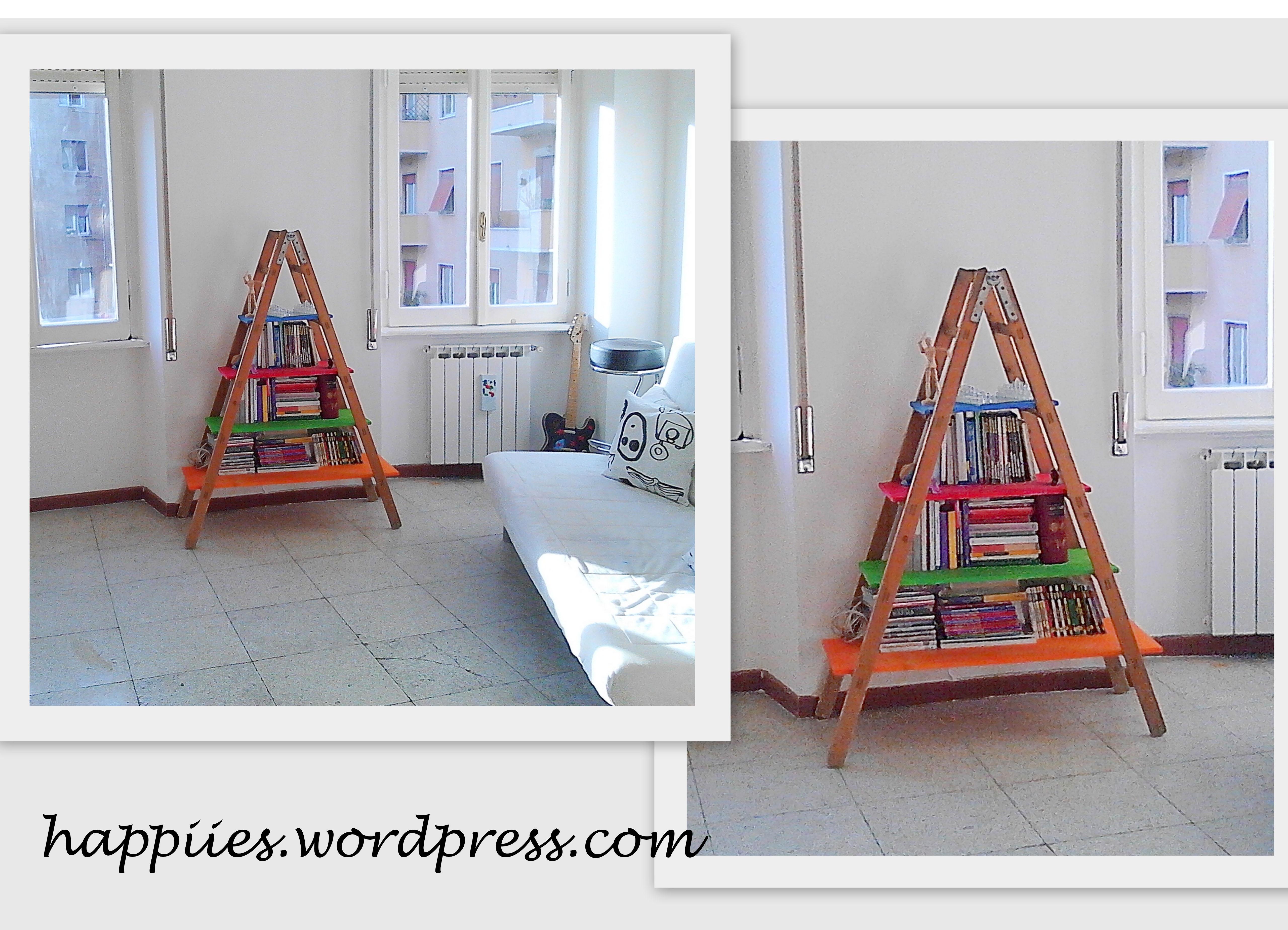 Idea creativa la libreria happiies for Libreria a scala ikea