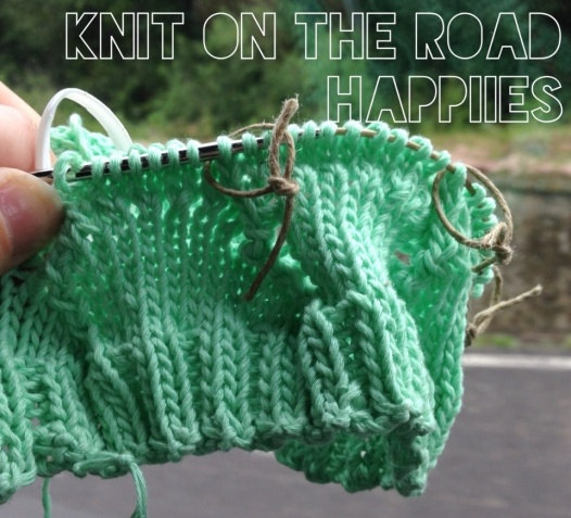 Knit-on-the-road