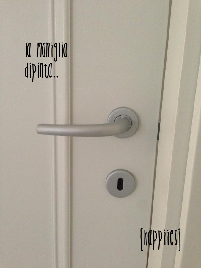 Rinnovare le vecchie porte di casa ridipingere le porte di legno happiies - Verniciare porte interne laminato ...