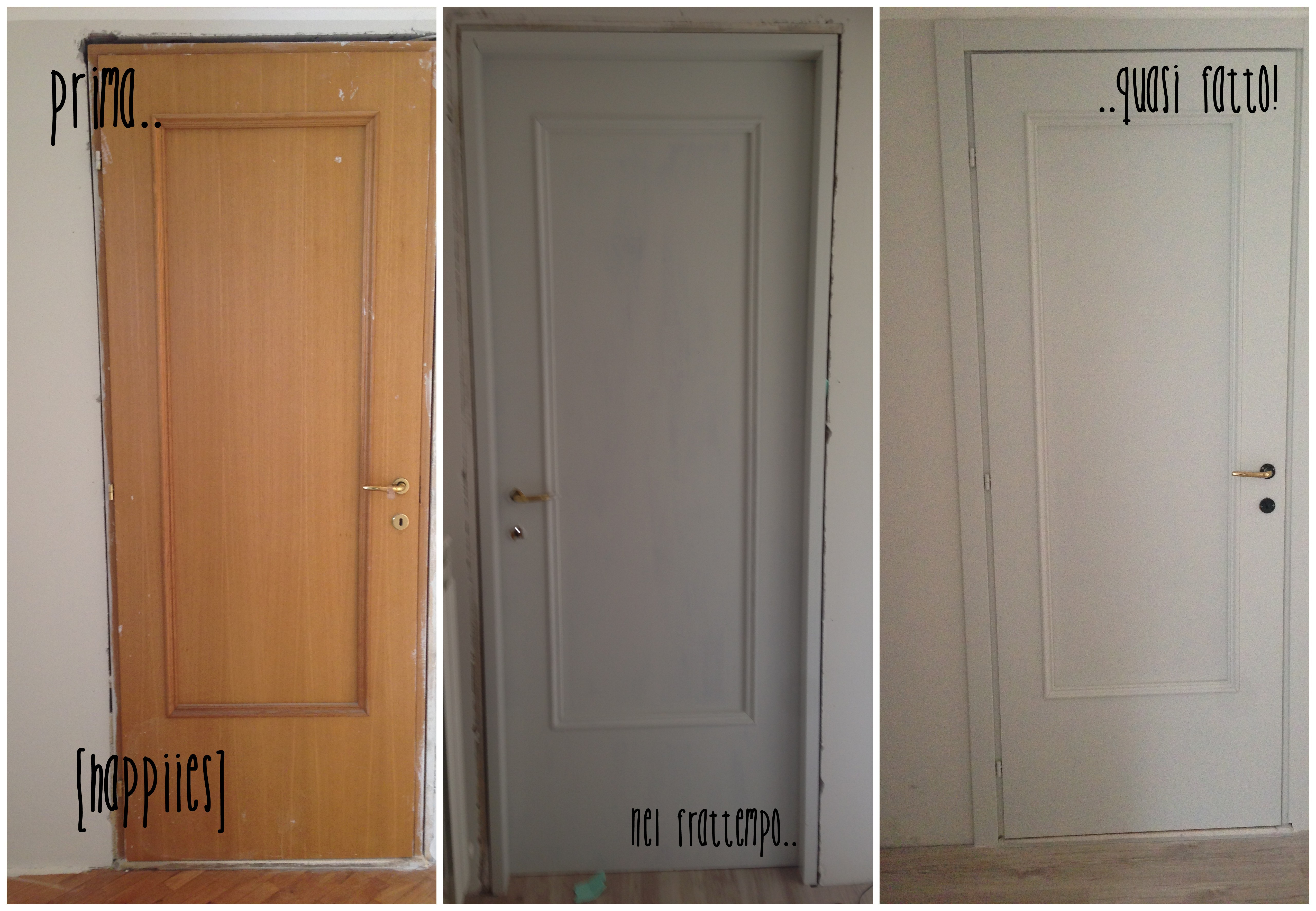 Rinnovare le vecchie porte di casa ridipingere le porte for Rinnovare casa idee