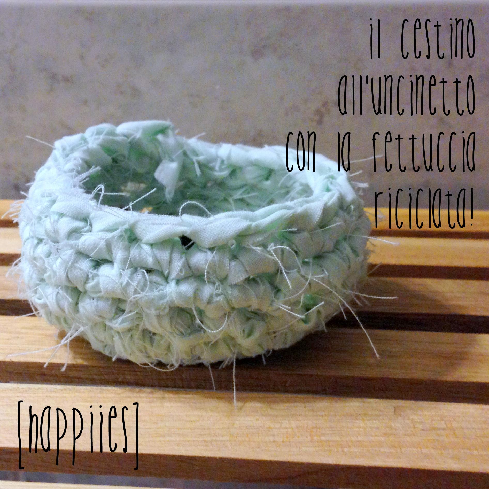 Cestini crochet primo tentativo happiies - Odore di fogna in bagno quando piove ...